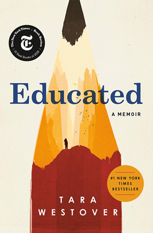 cover of Educated, a memorial.