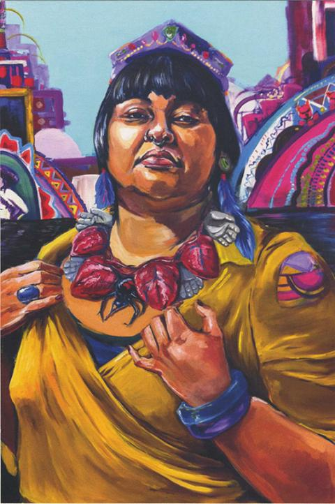Artwork from Diverse City, a gallery exhibit.