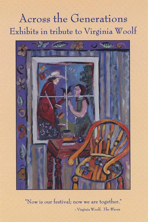 Across the Generations, Exhibits in tribute to Virginia Woolf