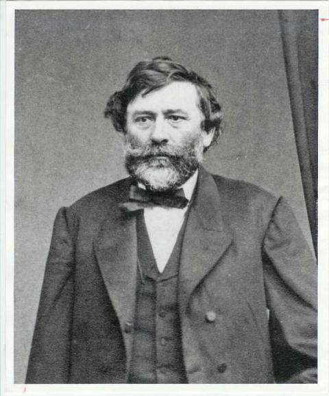 Portrait of man in the mid 1800's.