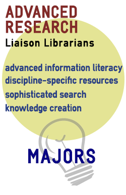 Advanced Research. Liaison Librarians