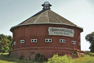 Fountain Grove Round barn
