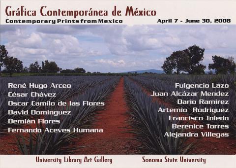 Gráfica Contemporánea de México/Contemporary Prints from Mexico