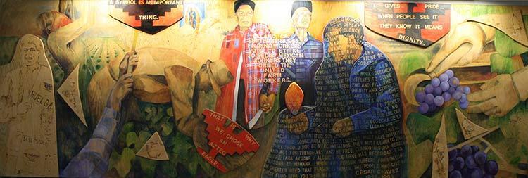 Cesar Chavez Memorial Mural