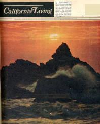 Cover of a magazine, California Living