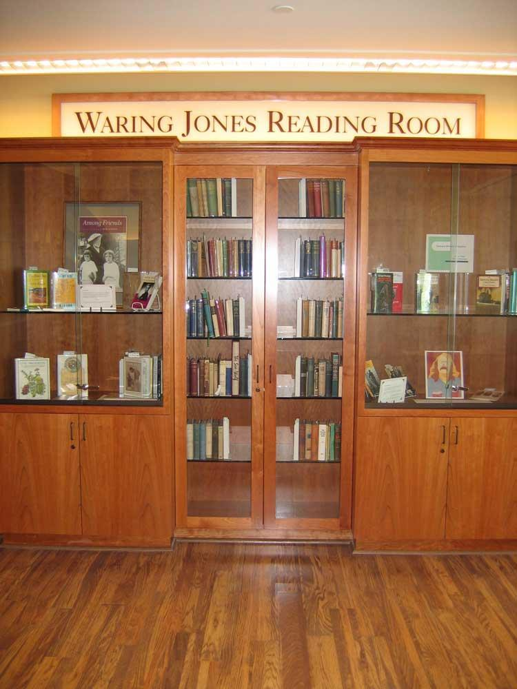 Warning Jones Reading Room