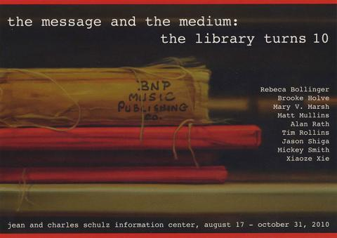 The message and the medium: the library turns 10.