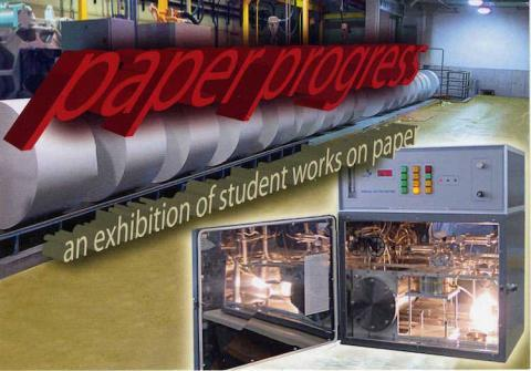 Paper progress, an exhibition of student works on paper
