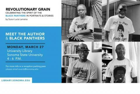 Revolutionary Grain, Celebrating the Spirit of the Black Panthers in Portraits and Stories by Suzan Lucia Lamaina