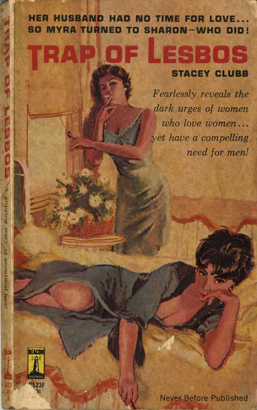 Book Cover Trap of Lesbos